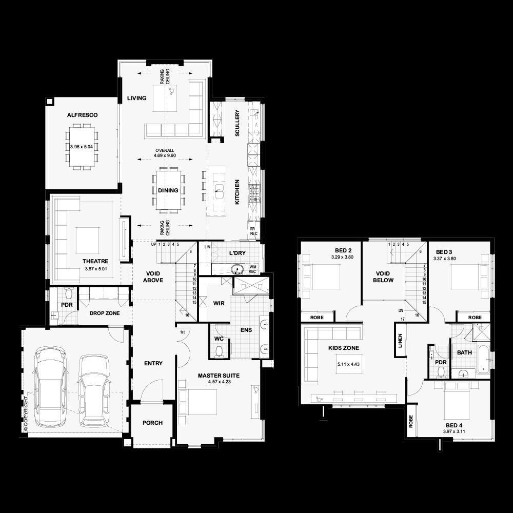 The Iris Floor Plan