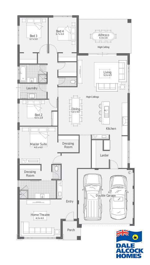 Stockholme I Floor Plan