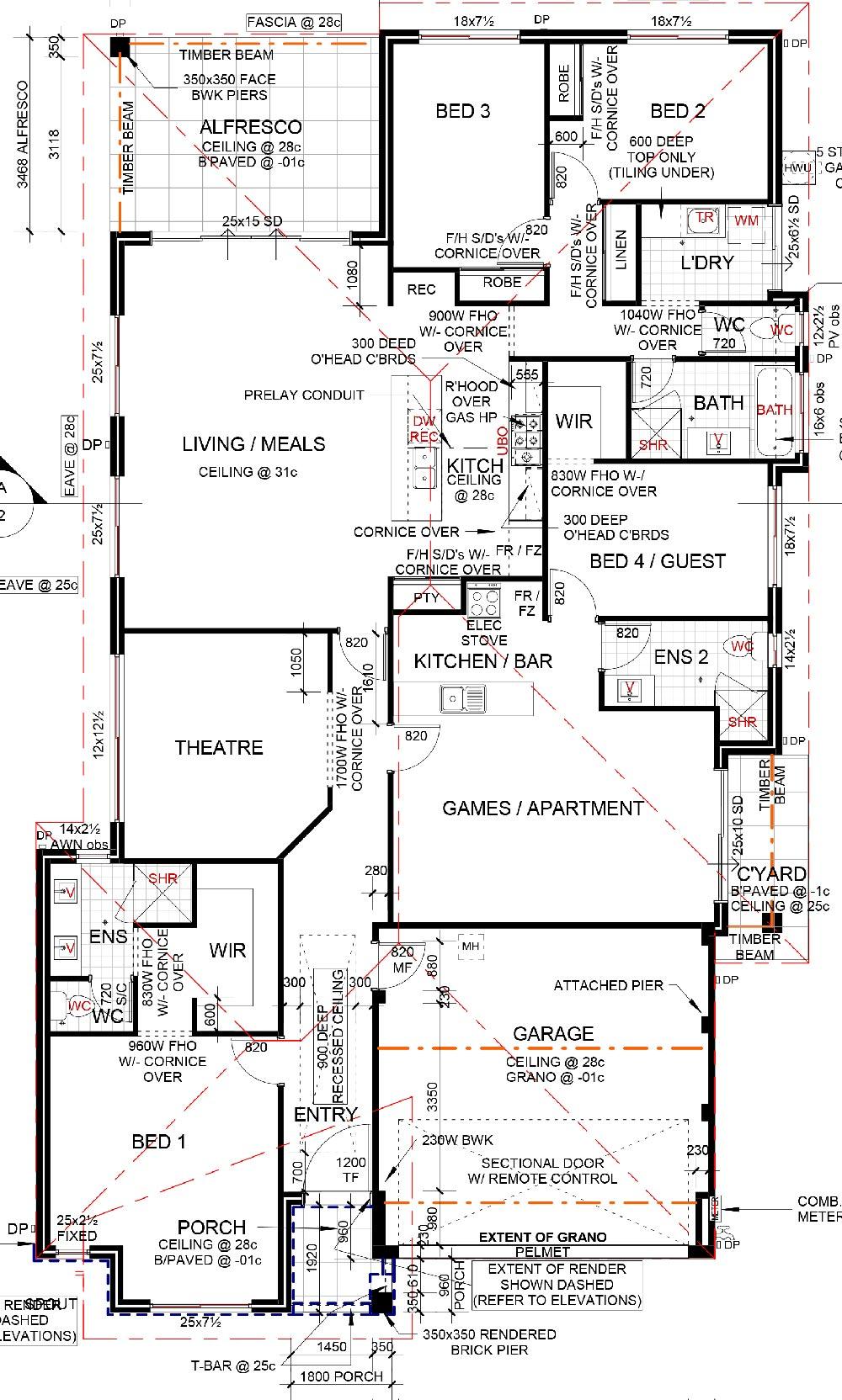 Santa Cruz MkII Floor Plan
