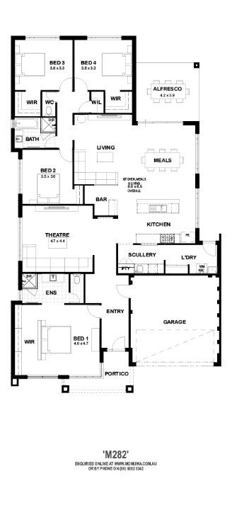 M282 Floor Plan