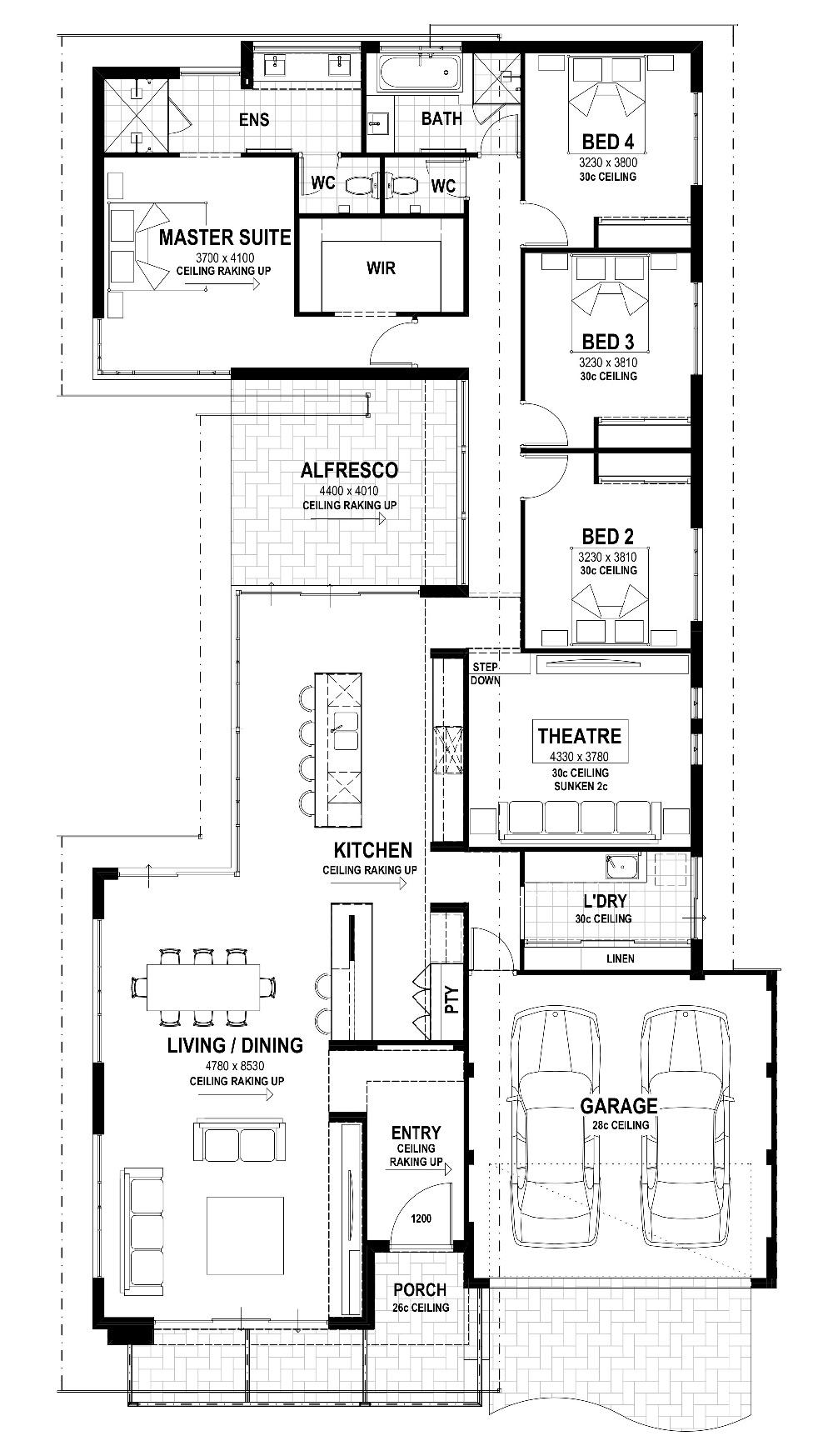 Australiana Floor Plan