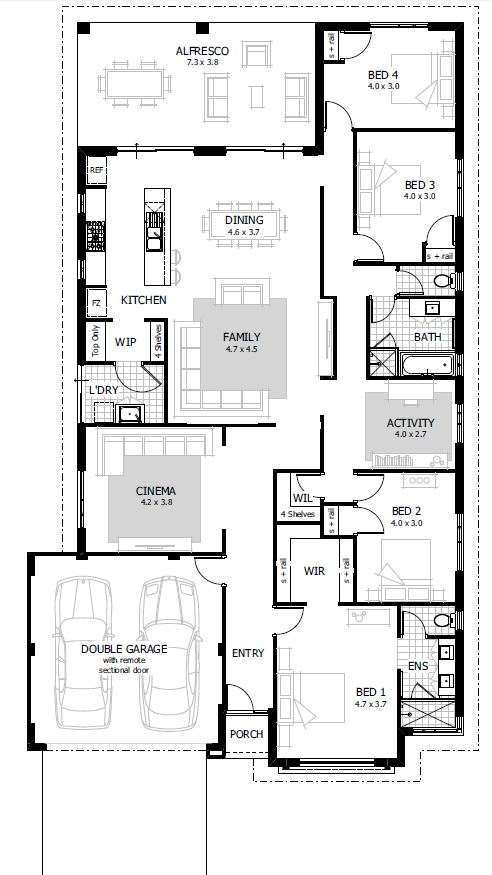 Harper Floor Plan