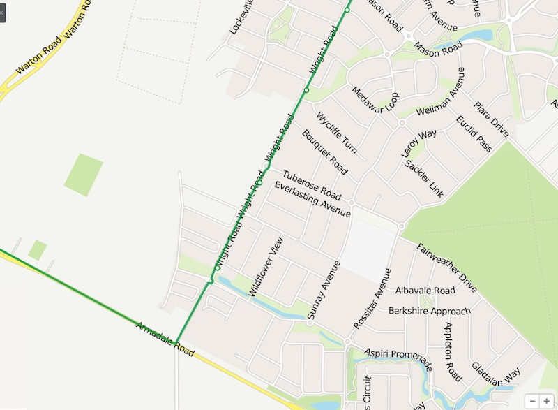 518 Bus Route Holland Parks Stops